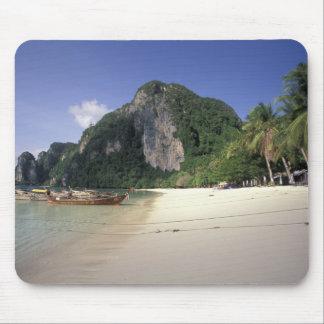 Thailand, Andaman Sea, Ko Phi Phi Island, Beach Mouse Mat
