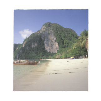 Thailand, Andaman Sea, Ko Phi Phi Island, Beach Notepad