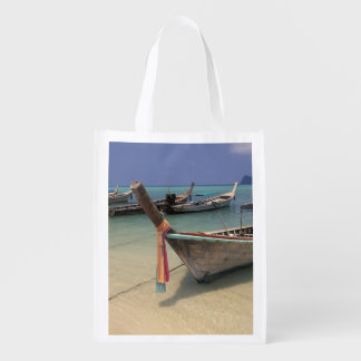 Thailand, Andaman Sea, Ko Phi Phi Island, Reusable Grocery Bag