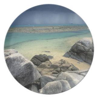 Thailand, Andaman Sea, Ko Phi Phi Island, Scenic Plate