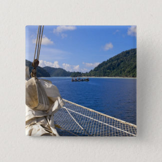 Thailand, Andaman Sea. Star Fyer clipper ship 15 Cm Square Badge
