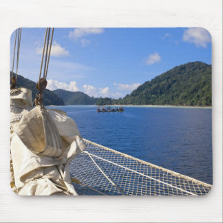 Thailand, Andaman Sea. Star Fyer clipper ship Mouse Mat