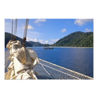 Thailand, Andaman Sea. Star Fyer clipper ship Photo Print