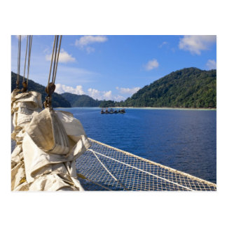 Thailand, Andaman Sea. Star Fyer clipper ship Postcard
