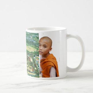 Thailand, Bangkok, Buddhist temple complex Coffee Mug