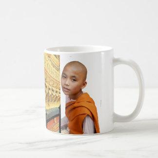 Thailand, Bangkok, Buddhist temple decoration Coffee Mug
