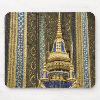 Thailand, Bangkok. Details of ornately decorated Mouse Mat