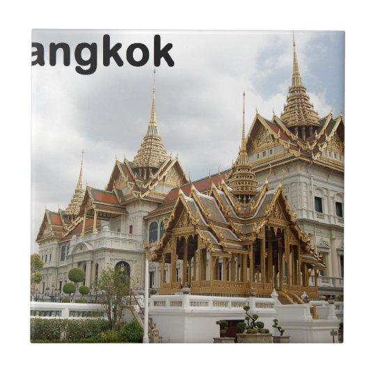 Thailand Bangkok grand palace (new) (St.K) Small Square Tile