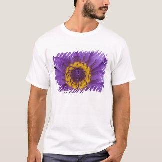 Thailand, Bangkok, Purple and yellow lotus T-Shirt