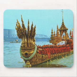 Thailand, Bangkok, Royal barge Mouse Mat
