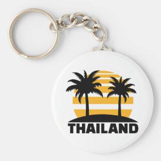 Thailand Basic Round Button Key Ring