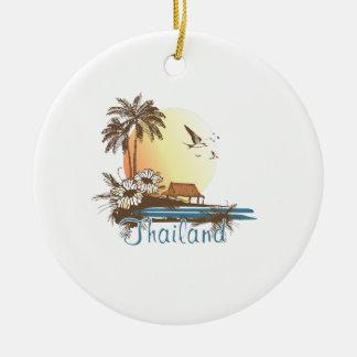 Thailand Beach Hut Christmas Ornament