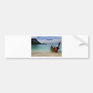Thailand beach in Krabi (St.K) Bumper Sticker