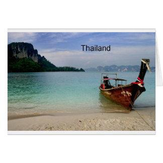Thailand beach in Krabi (St.K) Card