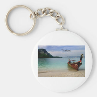 Thailand beach in Krabi (St.K) Key Ring