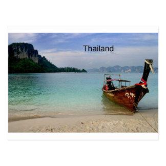 Thailand beach in Krabi (St.K) Postcard