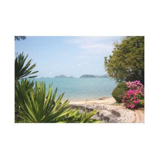 Thailand - Beach Park Canvas Print
