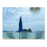 Thailand Beach Postcard