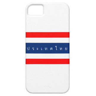 Thailand country flag nation symbol name text iPhone 5 cover