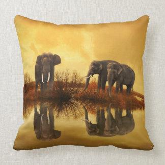 Thailand Elephants 1 Pillows