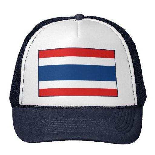 Thailand Flag Hat