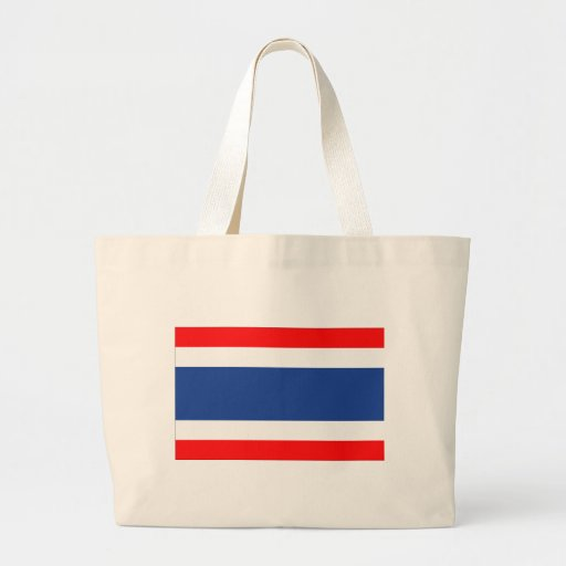 Thailand Flag Jumbo Tote Bag