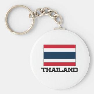 Thailand Flag Key Ring