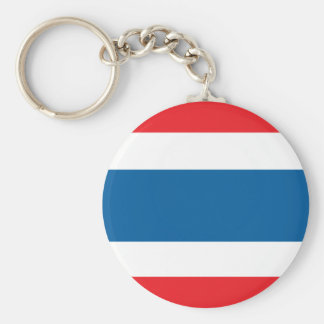 Thailand Flag Key Ring