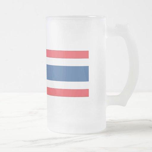 Thailand Flag Coffee Mugs