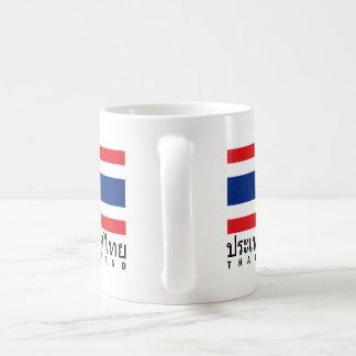 Thailand Flag Classic White Coffee Mug