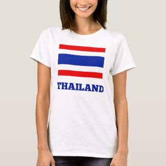 Thailand, Flag of Thailand T-Shirt