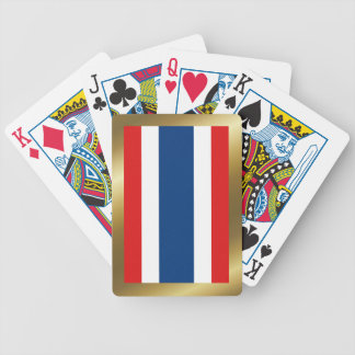 Thailand Flag Playing Cards