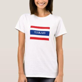 Thailand flag souvenir tshirt
