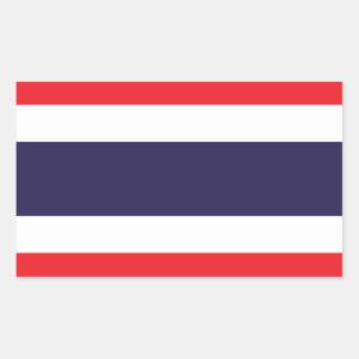 Thailand Flag Stickers* Rectangular Sticker