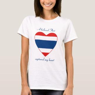 Thailand Flag Sweetheart T-Shirt