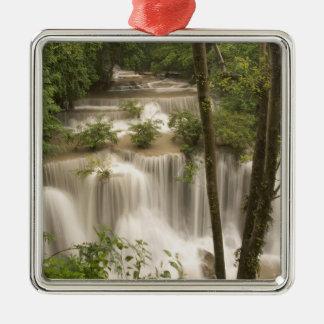 Thailand, Huai Mae Khamin Waterfall Christmas Ornament