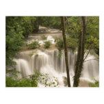 Thailand, Huai Mae Khamin Waterfall Post Card