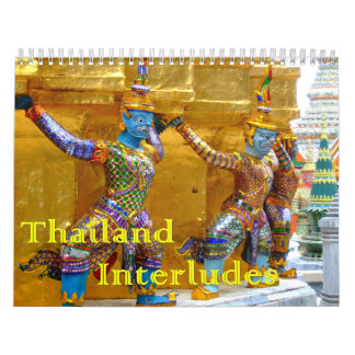Thailand Interludes Wall Calendars