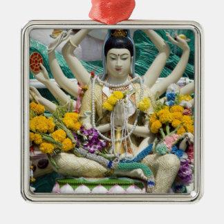 Thailand, Ko Samui aka Koh Samui). Wat Plai 2 Christmas Ornament