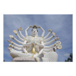Thailand, Ko Samui aka Koh Samui). Wat Plai 3 Photo Print
