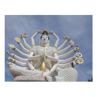 Thailand, Ko Samui aka Koh Samui). Wat Plai 3 Postcard