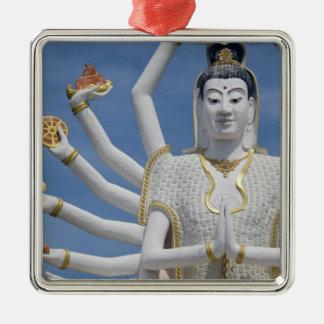 Thailand, Ko Samui aka Koh Samui). Wat Plai Christmas Ornament