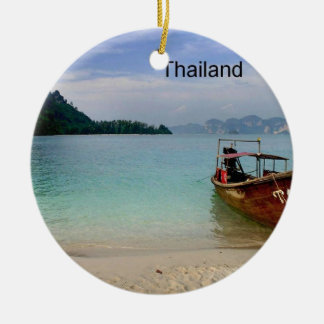 Thailand Krabi beach (new) (St.K) Christmas Ornament