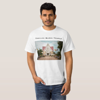 Thailand local temple by Wongsakorn D New T-Shirt