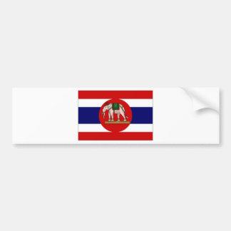 Thailand Naval Ensign Bumper Sticker
