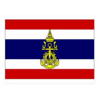 Thailand Naval Jack Postcard