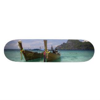 Thailand, Phi Phi Don Island, Yong Kasem beach, 21.6 Cm Old School Skateboard Deck