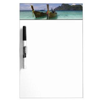 Thailand, Phi Phi Don Island, Yong Kasem beach, Dry Erase Board