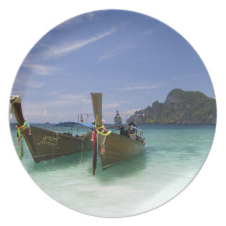 Thailand, Phi Phi Don Island, Yong Kasem beach, Plate