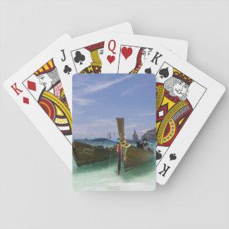 Thailand, Phi Phi Don Island, Yong Kasem beach, Playing Cards